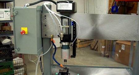 Gun Barrel Manufacturing Drilling Station