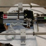AutoDrill's Automatic Tapper set up for use with PLC